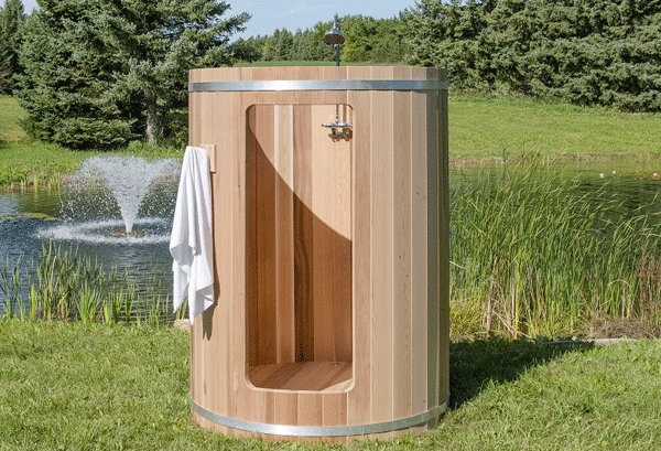 Cedar Outdoor Shower