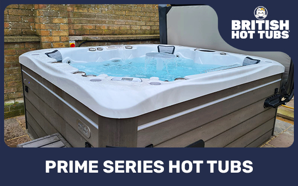 Prime Series Hot Tubs by British Hot Tubs
