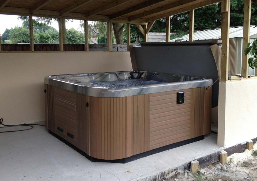 zenith 7 person hot tub coast spas. Black Bedroom Furniture Sets. Home Design Ideas